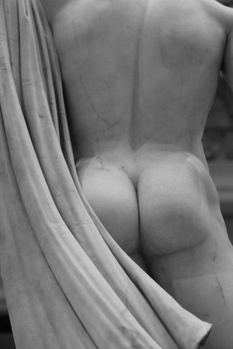 Best Bum in the Carroll and Milton Petrie European Sculpture Court at The Met