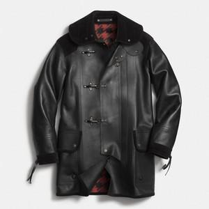 Coach Leather Fireman Coat 2014