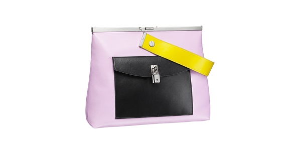 Dior Black Pocket with Pink handbag