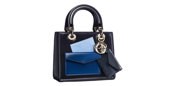 Dior Black with Blue handbag