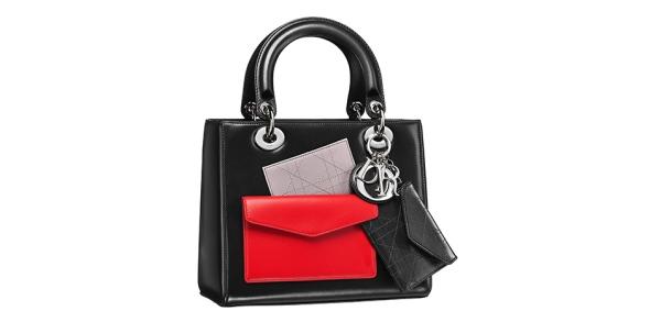 Dior Black with Red handbag