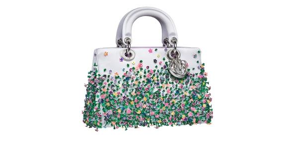 Dior Floral Bag