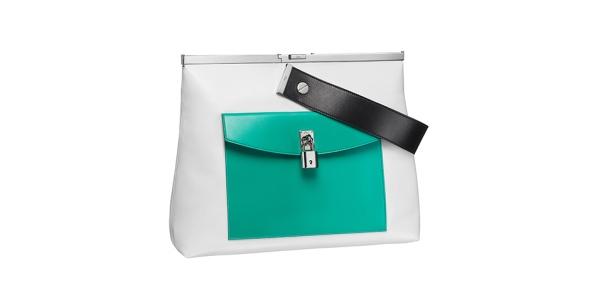 Dior Green Pocket Handbag