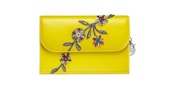 Dior Yellow Handbag 2