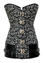 Steampunk corset ebay