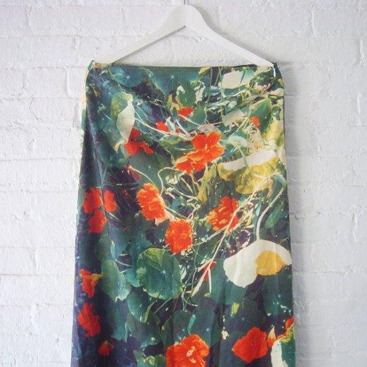 Agnes b floral print maxi