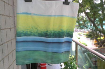 agnes b landscape skirt