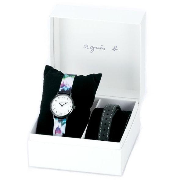 Agnes b photo print watch