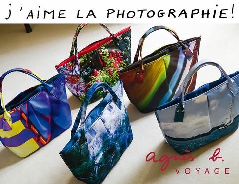 agnesb_photo print bags