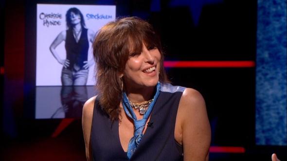 Chrissie Hynde Chain Collar Colbert Report