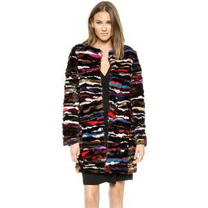 Diane von Furstenberg Fur Finale Coat