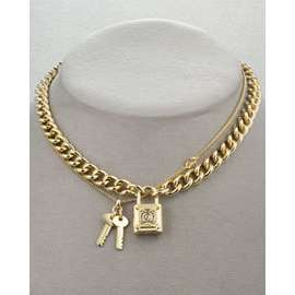 Juicy Couture Padlock Necklace