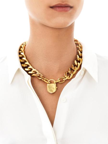 stella-mccartney-yellow-padlock-and-chain-necklace-
