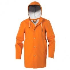 Stutterheim Stockholm orange jacket