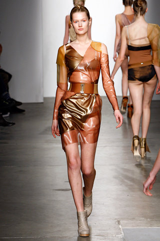 tableaux-vivants-for-vpl-fall-2011-colourblock-latex-dress-gallery
