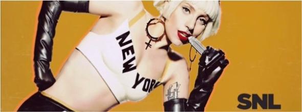 Tableaux Vivants SNL Lady Gaga