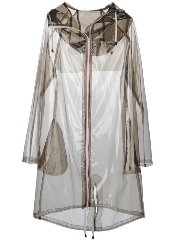 Transparent raincoat by Wanda Nylon, Farfetch, £311