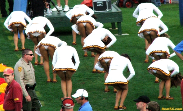 USC Song Girls Back End...