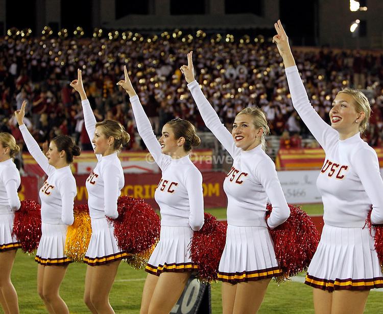 Boys usc trojans young girls cheerleader uniform
