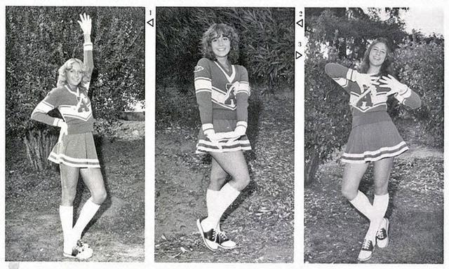 vintage cheerleaders (2)