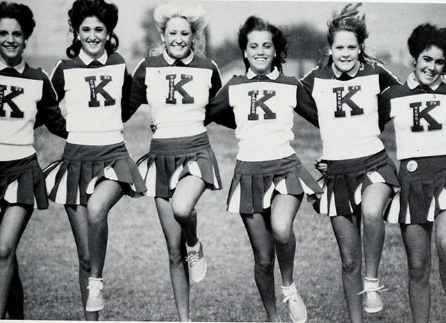 vintage cheerleaders (3)