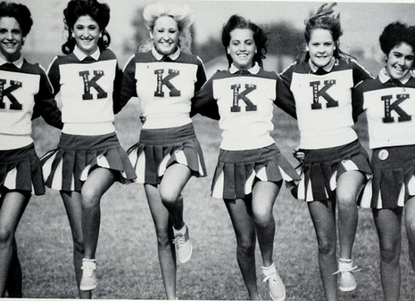 vintage cheerleaders (3)