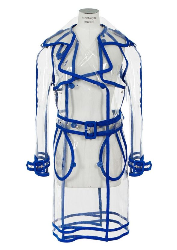 Wanda Nylon transparent trench coat. Wanda Nylon Coat