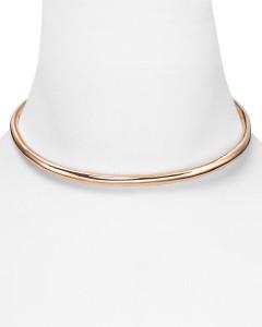 Alexis Bittar Liquid Rose Gold Collar