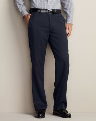 Eddie Bauer Flat Front Wool Gabardine Pants