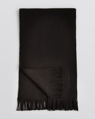 Hugo Boss Black Wool Scarf