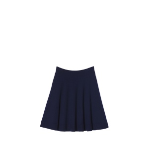 Lacoste Navy Sweater Knit Skirt