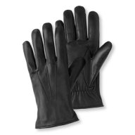 LL Bean Leather Gloves Black