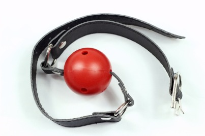 New-Sexy-40mm-Leather-Harness-Mouth-Soft-Solid-font-b-Rubber-b-font-Red-Gag-Ball