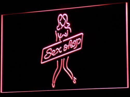Sex Shop Sexy Girl Toys Bar NEW Neon Light Sign