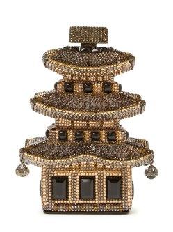 Judith Leiber Pagoda clutch