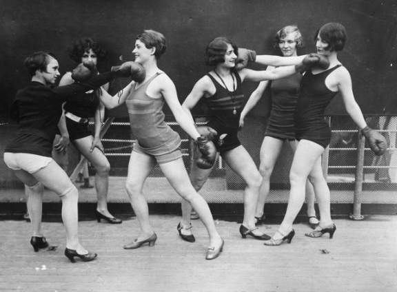 Ladies Boxing