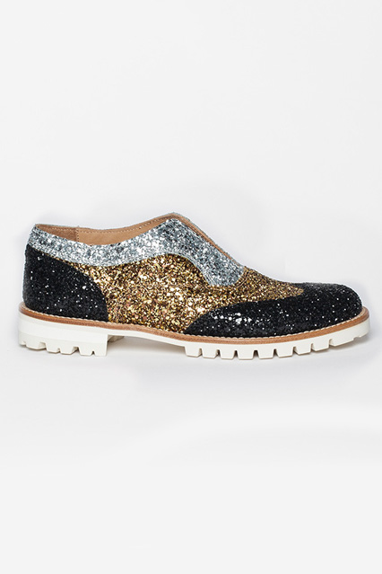 L'F Shoes Blkorosil Glitter, $310.52,