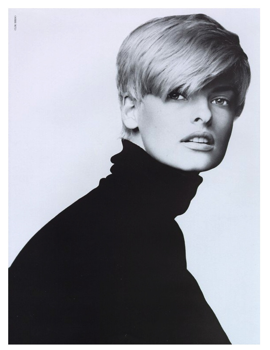 Linda Evangelista Covers The 35th Anniversary Issue Of: Grounding Yourself During The Craziness
