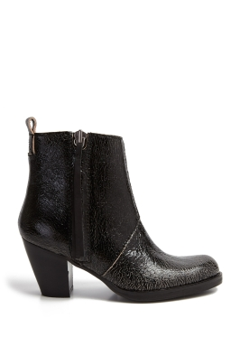 ACNE Studio black pistol boots