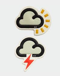 Anya Hindmarch Clouds leather sticker