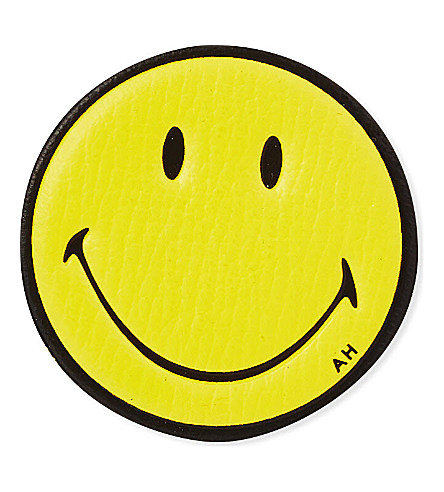 ANYA HINDMARCH Smiley leather sticker