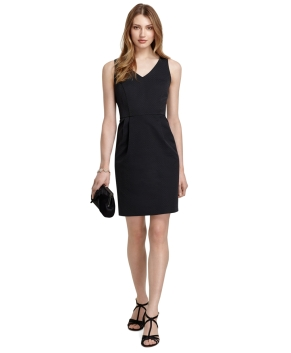 Brooks Brother Black Shift Dress