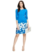 Brooks Brothers Carigan FloralSkirt