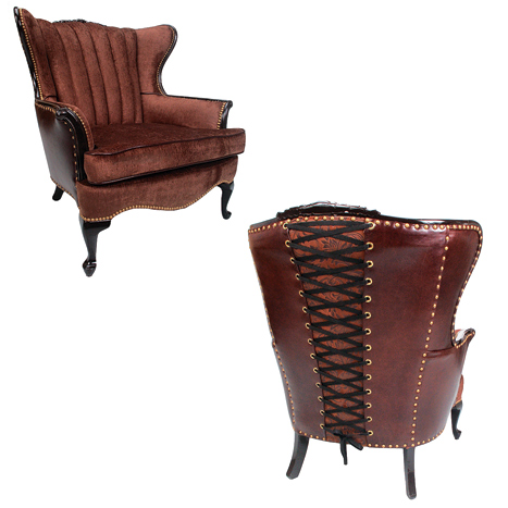 corset-chair lounge