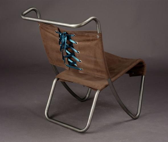 Corset Chair Modern Metal