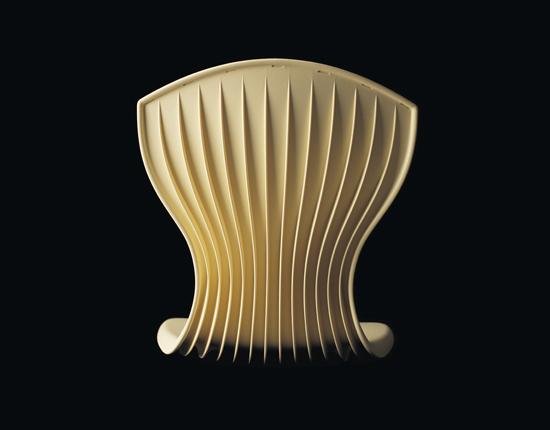 Corset Chair Oscar Tusquets Blanca - DESIGNER