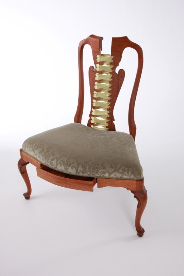 Corset Chair  Victorian Spread Michele Marti