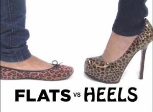 Flat vs. Heels