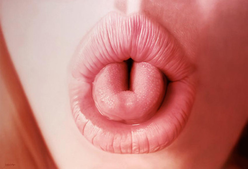 Hubert de Lartigue Lips 8