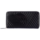 Reed Krakoff Black Patent Leather Stitched Wallet